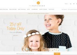 tailor kids clothing website solution